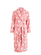 SASH & ROSE Print Fleece Gown