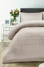 ACCESSORIZE Nola Jacquard Quilt Cover Set QB