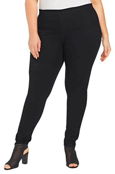 KHOKO DENIM Denim Jegging Plus Size | Tuggl