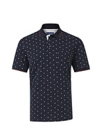 WEST CAPE Mens Cotton Pique Printed Polo