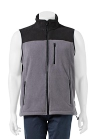 BRONSON Splice Polar Fleece Vest