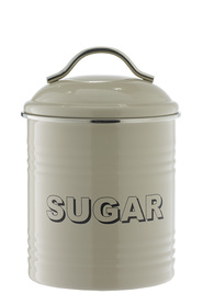 SMITH & NOBEL  Retro canister  sugar taupe