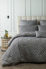 PHASE 2 San Lucas Soft Touch Quilted 6 Piece Comforter Set QB/KB