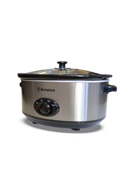 WESTINGHOUSE 6.5L Slow Cooker Stainless Steel