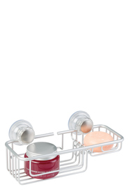 INTERDESIGN Metro Aluminium Suction Combo Basket