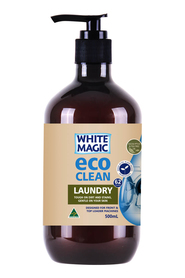WHITE MAGIC ECO CLEAN LNDRY LIQUID 500ML