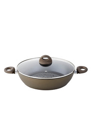 SMITH & NOBEL Diamond Forged Aluminium Shallow Casserole 32Cm