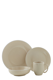 SOREN Arden 16 Piece Dinner Set Cream