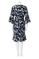 KHOKO FLOUNCE SLEEVE DRESS HK, FLORAL, 8