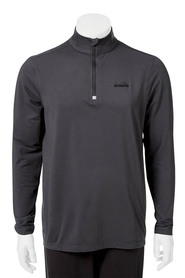 DIADORA Mens performance tech 1/4 zip hoody
