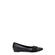SIMPLY VERA VERA WANG Pointed Toe Ballet With Elastic Belle