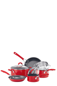 CIRCULON 6Pc Innovatum Red Aluminium Cookset