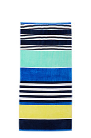 SOREN Santorini Velour Beach Towel