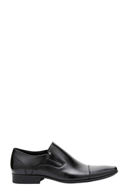 JULIUS MARLOW CROSS LEATHER SLIP ON