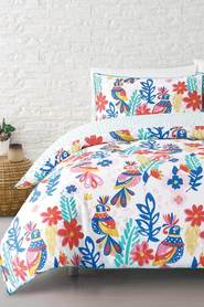 MOZI Spring Folk Cotton Percale Quilt Cover Set DB