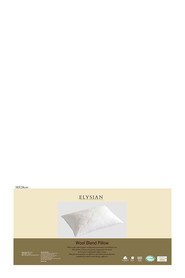 ELYSIAN Cotton Wool Blend Pillow