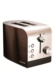 MORPHY RICHARDS Accents 2 Slice Toaster Black