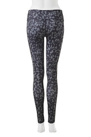 REEBOK Geo Print Full Length Legging