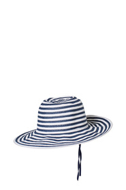 KHOKO STRIPE FLOPPY HAT HS883