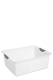 STERILITE Large Ultra Basket White