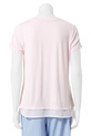 SASH & ROSE AVA RNECK S/S XST0, PINK, XS