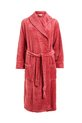 SASH&ROSE TEXTURE FLEECE GOWN, PINK, XS