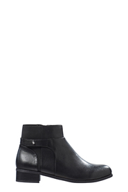 HUSH PUPPIES Yadon elastic pull on leather boot