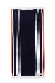 ONKAPARINGA EDEN STRIPED BEACH TOWEL 90X180CM