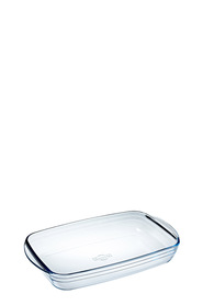 O'CUISINE Glass Rectangle Roaster 2L