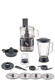 SMITH & NOBEL Stainless Steel Food Processor
