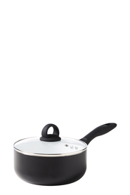 SMITH & NOBEL NORWICH WHITE CERAMIC NON STICK SAUCEPAN 20CM