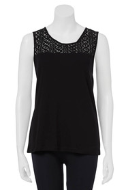 KHOKO Amy Lace Sleeveless Top