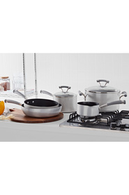 CIRCULON  5Pc Contempo Silver Aluminium Cookset