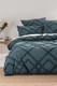 LINEN HOUSE WILUNA CHENILLE QUILT COVER SET KING BED