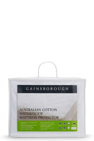 GAINSBOROUGH Cotton Waterproof Mattress Protector - Ksb