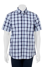 WEST CAPE CONTEMPORARY CASUAL CHECK SHIRT