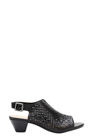 EASYSTEP DENNA PEEP TOE PERFORATED HEEL