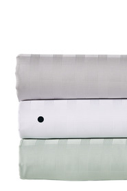 LINEN HOUSE 400 Thread Count Bamboo Cotton Check Sheet Set King Bed