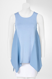 SIMPLY VERA VERA WANG Swing Top with Panel Detail