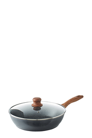 SMITH & NOBEL Woodlands Aluminium Sautepan With Lid 28cm
