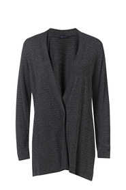 SAVANNAH Pointelle Stitch Viscose Cardigan