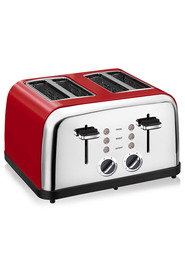 SMITH + NOBEL 4SL TOASTER RED HTA-3220RD