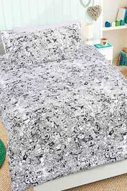 HAPPY KIDS Boo Glow in the Dark Quilt Cover Set DB