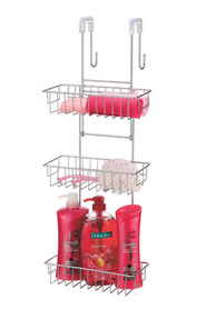 L T WILLIAMS 3 Tier Over Screen Shower Caddy
