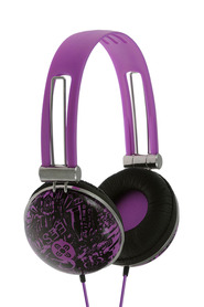 MOKI Dome Violet Headphones