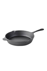 SMITH & NOBEL Raw Cast Iron Skillet 30Cm