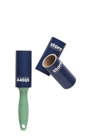 STORE & ORDER 30 Sheet Lint Roller with 2 Refills