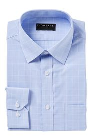 GLOWEAVE Prince Of Wales Check Shirt
