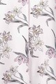 KHOKO LILY PRINTED VEE NECK TO, WHITE, 8