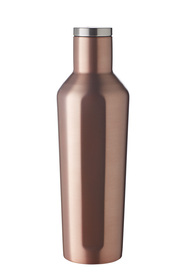 SMITH & NOBEL SMART SHAPE STAINLESS STEEL BOTTLE 450ML ROSE GOLD